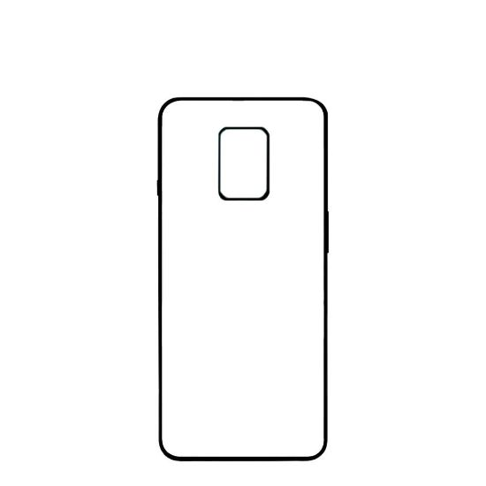 Picture of XiaoMi case (Redmi NOTE 9s) PC BLACK with Alum. Insert