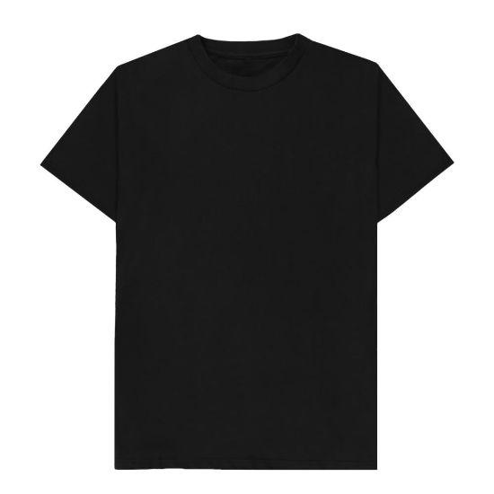 Εικόνα της Cotton T-Shirt (UNISEX 3XLarge) BLACK 150gr