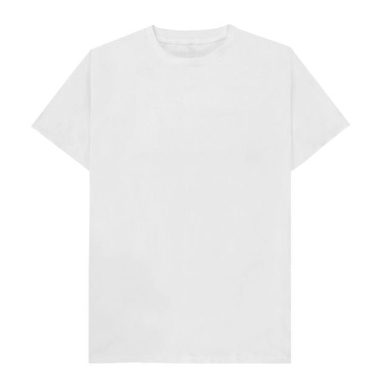 Picture of Cotton T-Shirt (UNISEX 3XLarge) WHITE 150gr