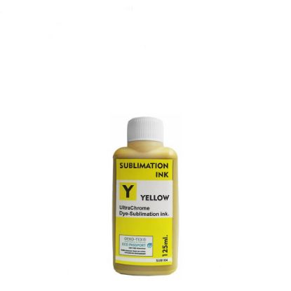 Picture of Sublimation Ink Epson (YELLOW) 125ml for small printers