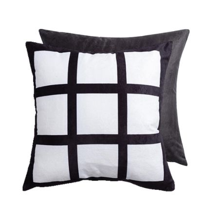 Εικόνα της Pillow Cover (9 Panel) Black 40x40cm