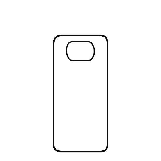 Εικόνα της XiaoMi case (POCO X3 NFC/X3 pro) TPU BLACK with Alum. Insert