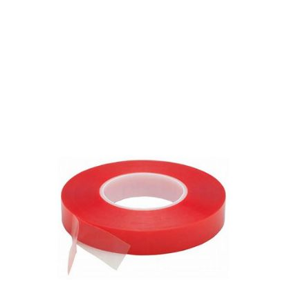 Εικόνα της Double sided Tape (343) 12mm x 50m - PET Red