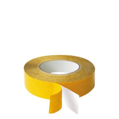 Εικόνα της Double sided Tape (340) 12mm x 50m - PVC White