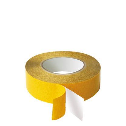 Εικόνα της Double sided Tape (340) 19mm x 50m - PVC White
