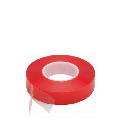 Εικόνα της Double sided Tape (343) 19mm x 50m - PET Red