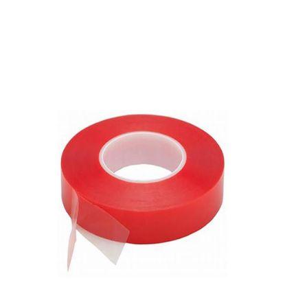 Εικόνα της Double sided Tape (343) 25mm x 50m - PET Red