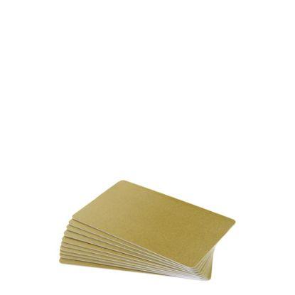 Εικόνα της PVC CARDS GOLD (PLAIN) 100 cards