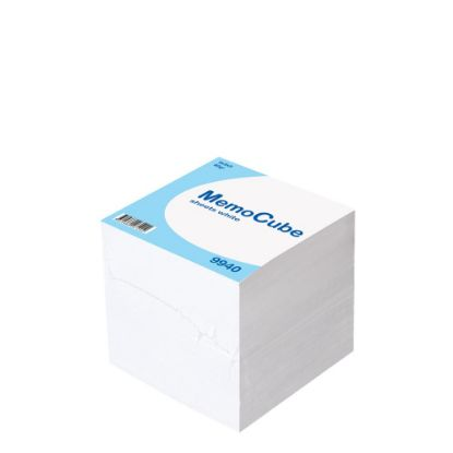 Εικόνα της MEMO CUBE 9x9 *SHEET* white (910sh.)