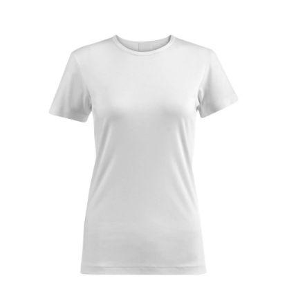 Picture of Cotton T-Shirt (WOMEN Medium) WHITE 150gr