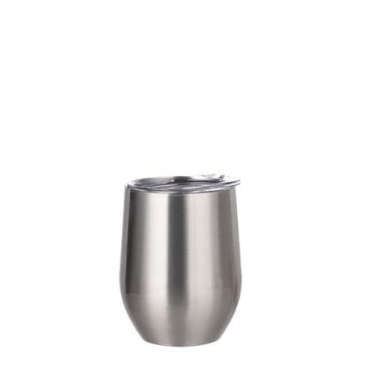 Εικόνα της Stemless Cup 12oz (Silver)