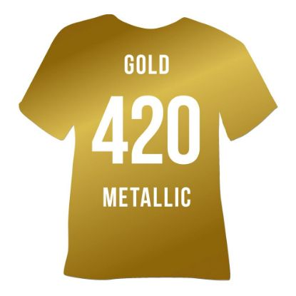 Picture of POLI-FLEX METALLIC (GOLD) 50cmx1cm