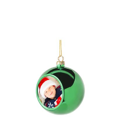Picture of XMAS - BALL 8cm/GREEN