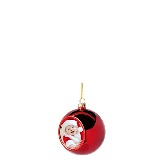 Picture of XMAS - BALL 6cm/RED