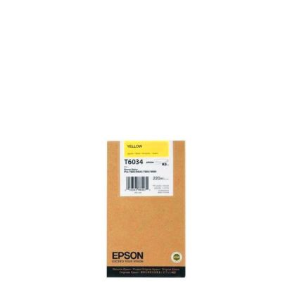 Picture of EPSON INK (YELLOW) 220ml for 7800, 7880, 9800, 9880