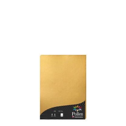 Εικόνα της Pollen Paper GOLD A4/120gr.