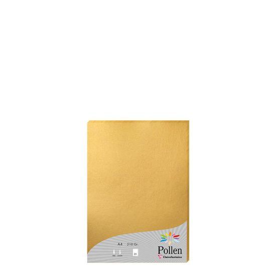 Εικόνα της Pollen Paper GOLD A4/210gr.