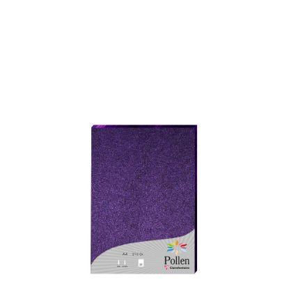 Εικόνα της Pollen PURPLE metallic A4/210gr.