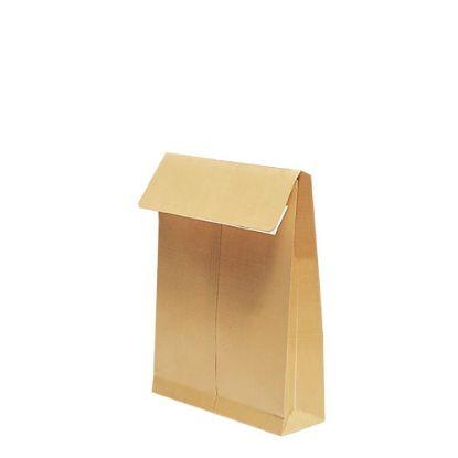 Picture of Pocket Envelopes Kraft 130gr. (280x365mm) side gusset 7cm