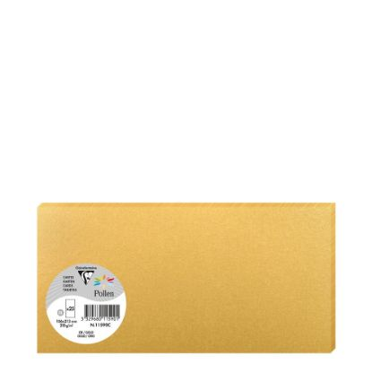 Picture of Pollen Cards 106x213mm - GOLD