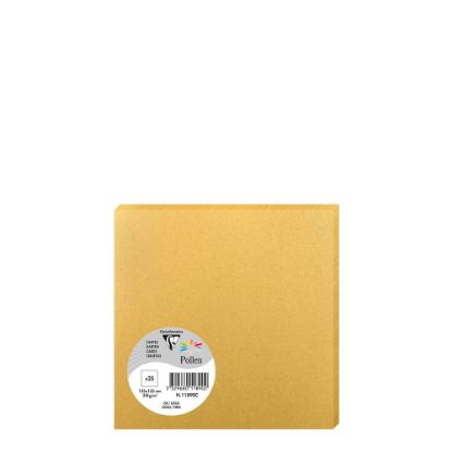 Picture of Pollen Cards 135x135mm - GOLD
