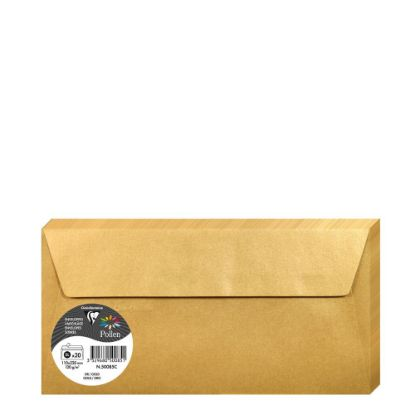 Picture of Pollen Envelopes 110x220mm - GOLD