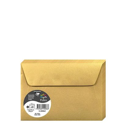 Picture of Pollen Envelopes 114x162mm - GOLD