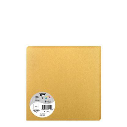 Picture of Pollen Cards 160x160mm - GOLD