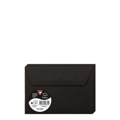 Picture of Pollen Envelopes 114x162mm - BLACK