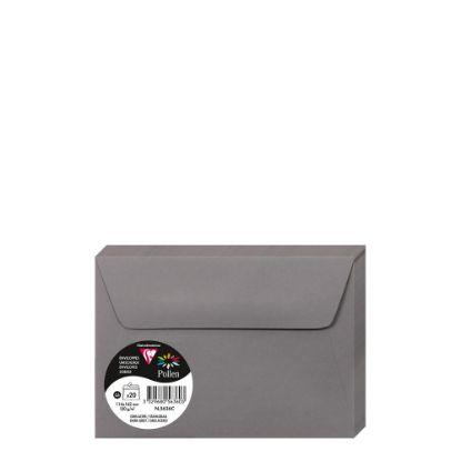 Picture of Pollen Envelopes 114x162mm - GREY DARK