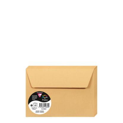 Picture of Pollen Envelopes 114x162mm - CARAMEL