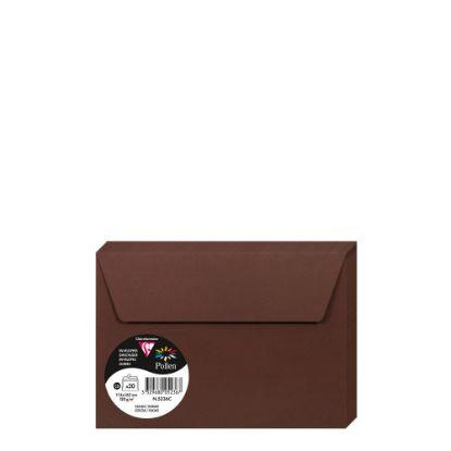 Εικόνα της Pollen Envelopes 114x162mm (120gr) CACAO