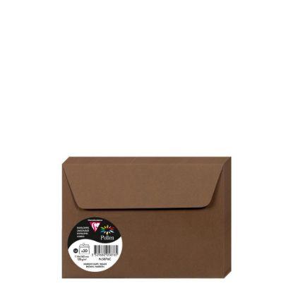 Εικόνα της Pollen Envelopes 114x162mm (120gr) BROWN