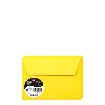 Εικόνα της Pollen Envelopes 114x162mm (120gr) YELLOW INTENSIVE