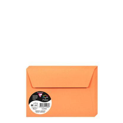 Εικόνα της Pollen Envelopes 114x162mm (120gr) ORANGE