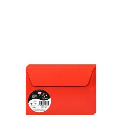Εικόνα της Pollen Envelopes 114x162mm (120gr) RED CORAL