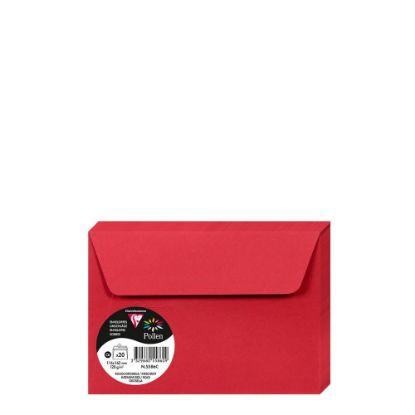 Εικόνα της Pollen Envelopes 114x162mm (120gr) RED INTENSIVE