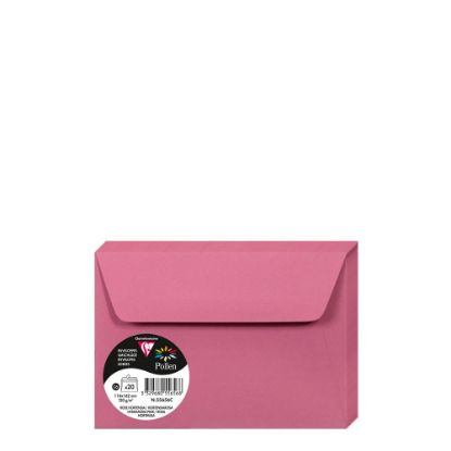 Εικόνα της Pollen Envelopes 114x162mm (120gr) PINK HYDRANGEA