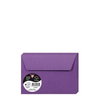 Εικόνα της Pollen Envelopes 114x162mm (120gr) LILAC INTENSIVE