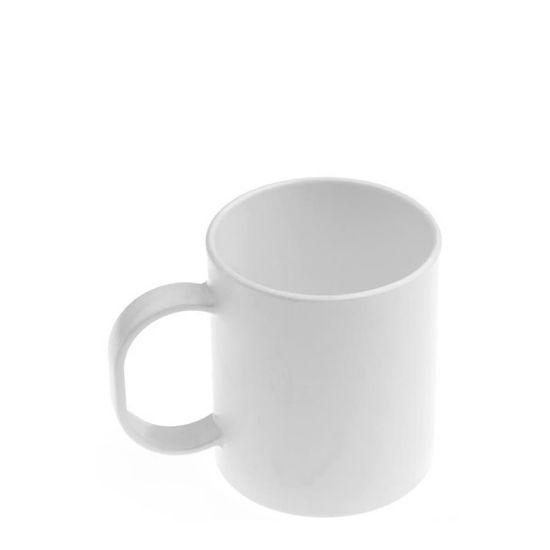 Εικόνα της MUG 11oz (PLASTIC) WHITE matt