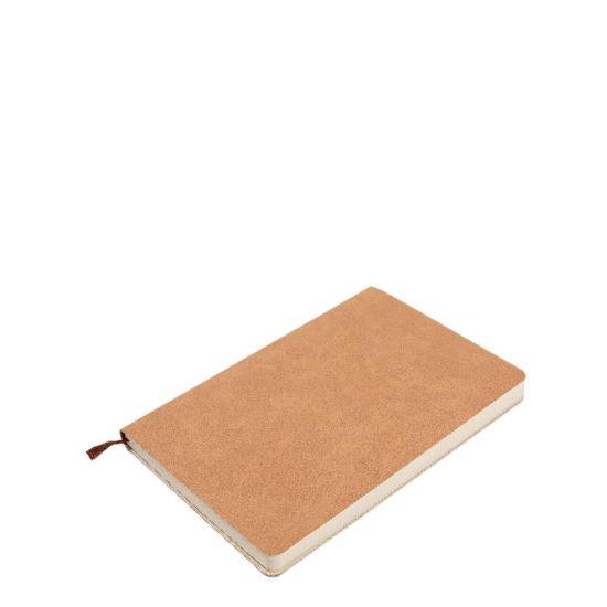Εικόνα της PU Leather Brown notebook (A5) 14.5x21cm