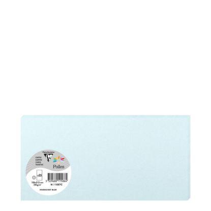 Εικόνα της Pollen Cards 106x213mm (210gr) BLUE metallic