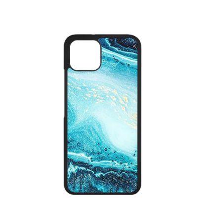 Εικόνα της APPLE case (iPHONE 13) TPU BLACK with TEMPERED GLASS