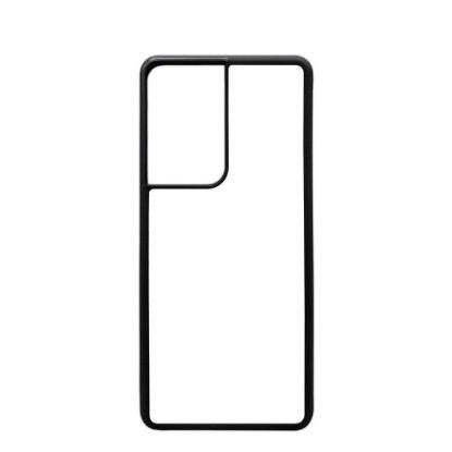 Εικόνα της GALAXY case (S21 Ultra) TPU BLACK with Alum. Insert